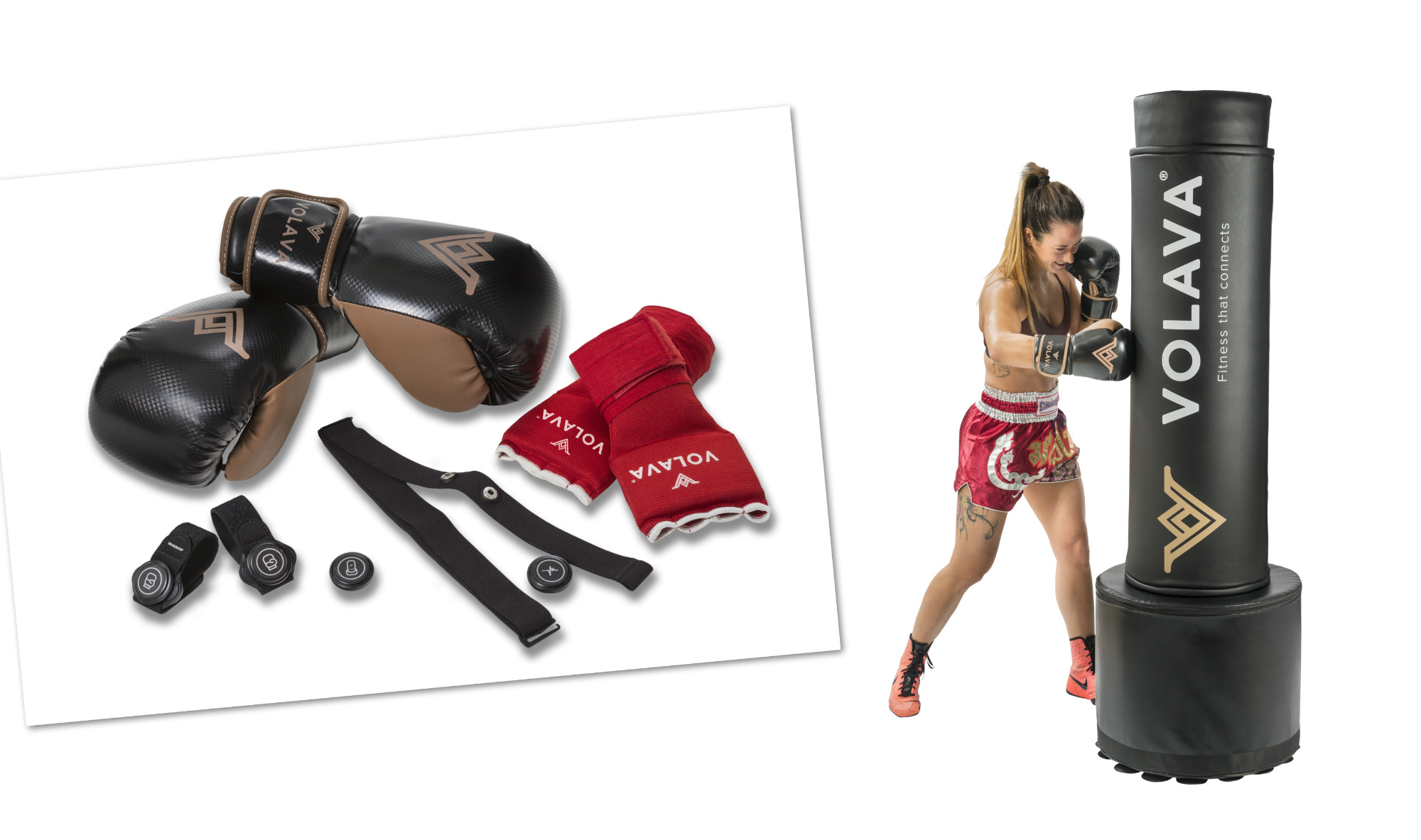 VOLAVA FitBoxing Kit Brings Studio Style Fitness Boxing to Home – Movesense